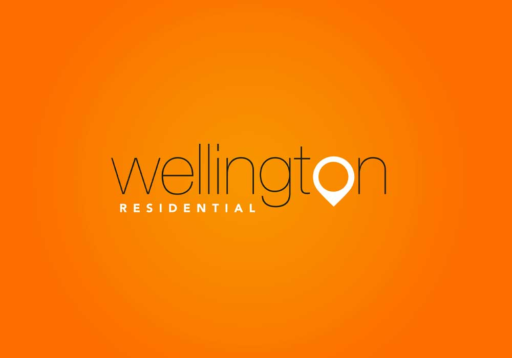 Wellington residential logo design